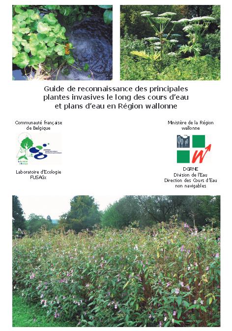 Guide de reconnaissance des principales plantes invasives le long des cours d'eau et plans d'eau en Région wallonne
