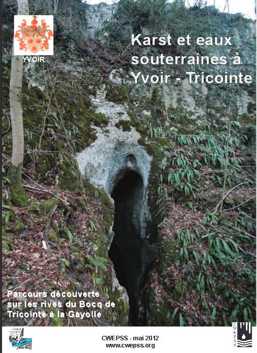 Balade itinérante: Karst et eaux souterraines à Yvoir - Tricointe